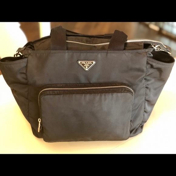 4b215ce493 Prada Designer Diaper Bag. M 5c4c93570cb5aa08d16670aa